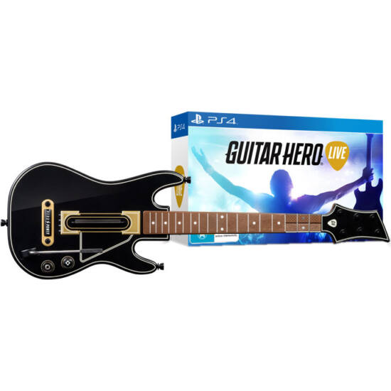 Activision Guitar Hero Live Guitar Bundle (PS4) Játékprogram