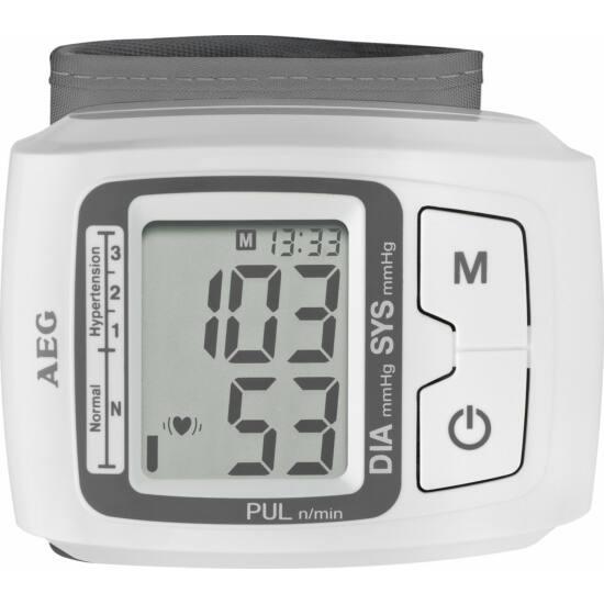 AEG BMG5610 csuklós vérnyomásmérő, elemes