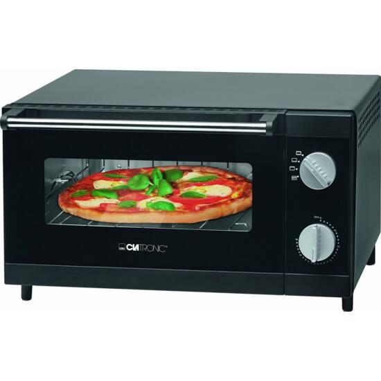 Clatronic MPO3520 multifunkciós pizzasütő, 22 cm x 37,5 cm x 33 cm, 1000W