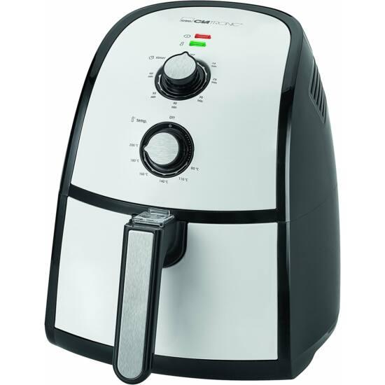 Clatronic FR3667 olajsütő Hot Air Fry olajnélküli sütő, 2,2 liter, 8in1, 1500W