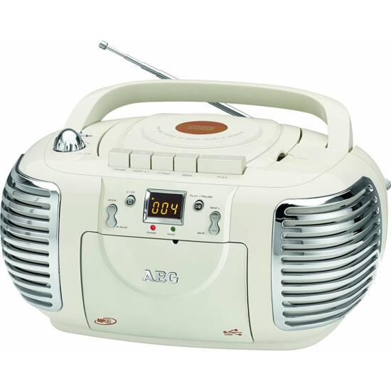 AEG NSR4377 CD/MP3/USB retro rádió , aux-in