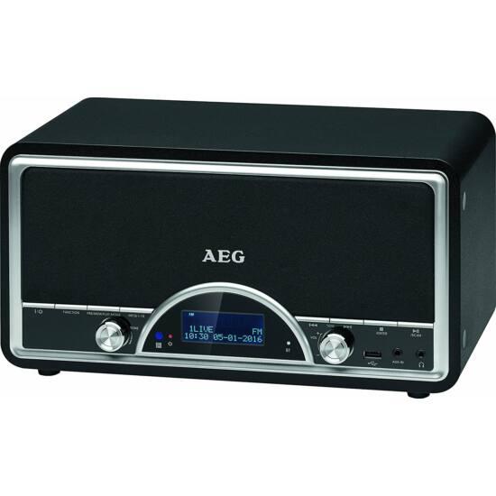 AEG NDR4378 dab, BT, USB music center, aux-in, 20 tárhely