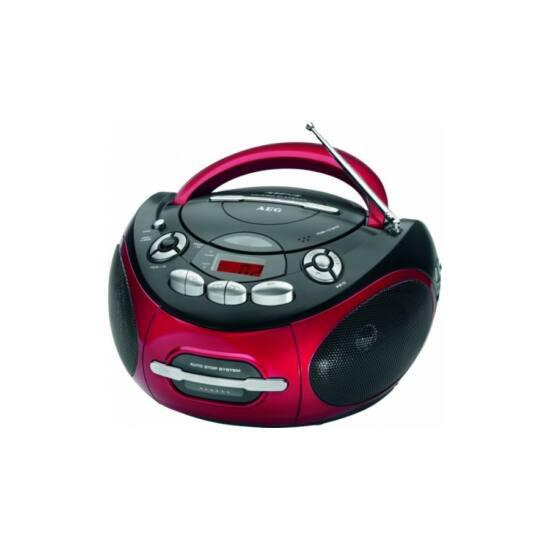 AEG SR4353 mp3-as, cd-s kazettás rádió, aux in, LCD kijelző