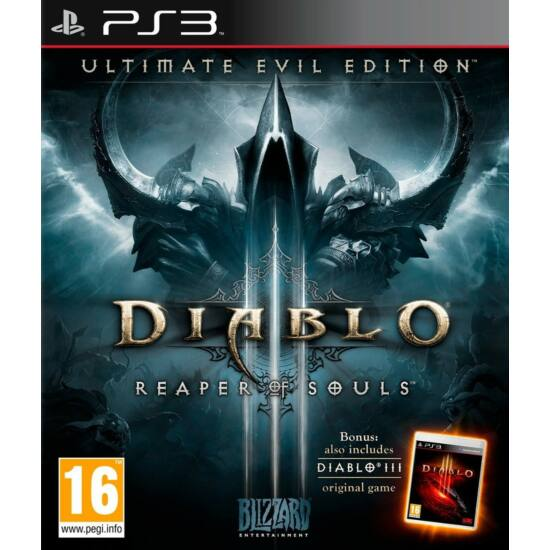 Blizzard Diablo III Reaper of Souls Ultimate Evil Edition (PS3) Játékprogram