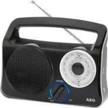 AEG TR4131 tranzisztoros rádió, elemes