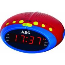 AEG MRC4143 gyerek órás rádió - KIDS LINE, LED kijelző, ébresztő