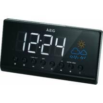 AEG MRC4141 projektoros rádió időjárásállomással, LED kijelző, óra, ébresztő,10 memóriahely