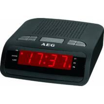 AEG MRC4142 ébresztőórás rádió, LED kijelző, 10 tárhely