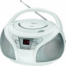 AEG SR4365 hordozható cd-s rádió FEHÉR