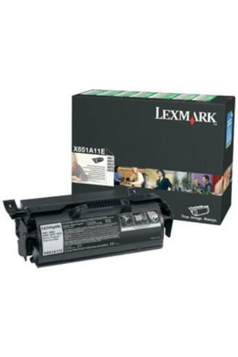Lexmark black toner | return | 7000old | X651de/X652de/X654de/X656de/X656dte/...