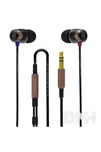 SoundMAGIC SM-E10-03 E10 fekete-arany fülhallgató