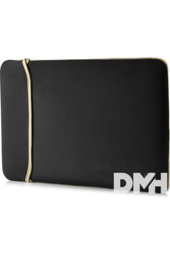 """HP Sleeve 15,6"""" kifordítható fekete-arany notebook tok"""