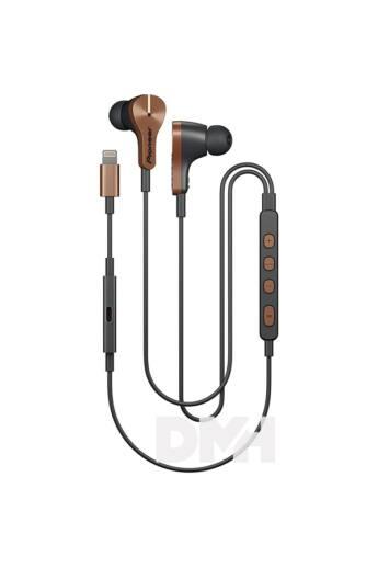 Pioneer SE-LTC5R-T Rayz Plus bronz Lightning zajcsökkentős mikrofonos fülhallgató