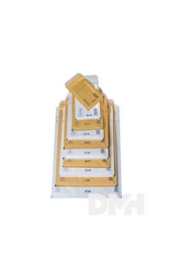 370x480 mm barna légpárnás boríték