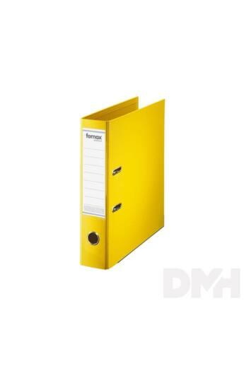 Fornax Master A4 8cm sárga iratrendező