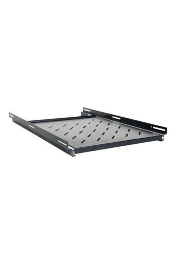 START.LAN sliding shelf 500mm 1U for 1000mm depth 19'' rack cabinets