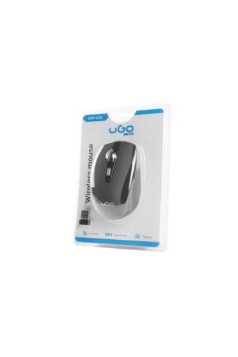 UGO wireless Optic mouse MY-03 1800 DPI, Black