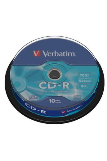 Verbatim CD-R [ cake box 10   700MB   52x   DataLife ]
