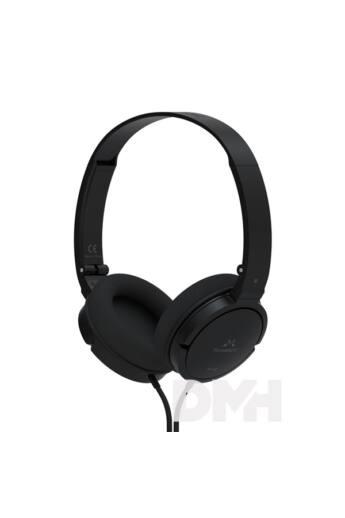 SoundMAGIC SM-P11S-01 P11S On-Ear fekete fejhallgató headset