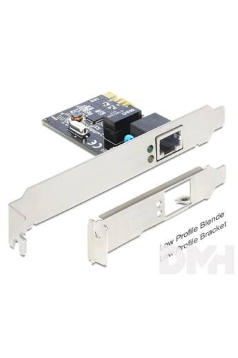 Delock 89357 PCI Expressz kártya > 1 x Gigabit LAN port bővítő kártya