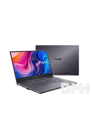 """ASUS ProArt StudioBook Pro W500G5T-HC004T 15,6"""" UHD/Intel Core i7-9750/32GB/1TB SSD/RTX 5000 16GB/Win10/szürke laptop"""