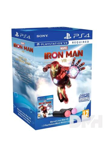 Sony Playstation 4 Move Twin Pack + Marvel`s Iron Man VR PS4 játékszoftver