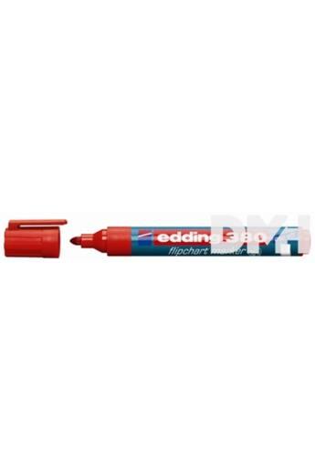 Edding 380 kerek hegyű piros flipchart marker