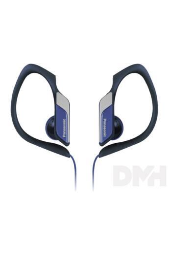 Panasonic RP-HS34E-A 3,5mm jack kék-fekete clip on fülhallgató