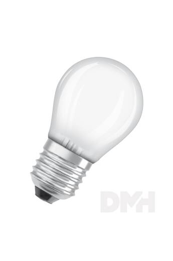 Osram Star matt üveg búra/4W/470lm/4000K/E27 LED kisgömb izzó