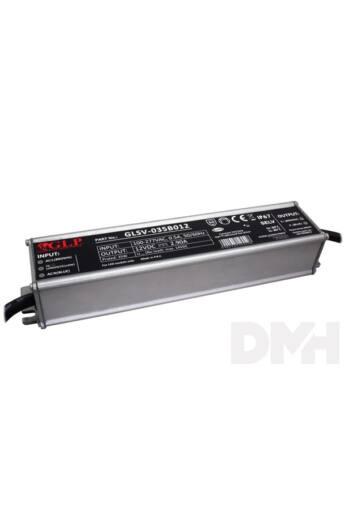 GLP GLSV-035B012 12V/2.9A 35W IP67 LED tápegység