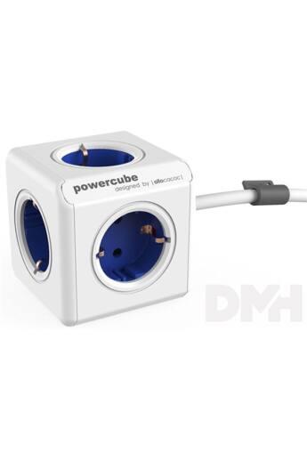 Allocacoc PowerCube Extended 1,5m kék/fehér 5-ös elosztó