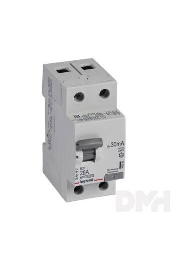 Legrand 402036 RX3 25A A 30mA 3 pólusú áram-védőkapcsoló