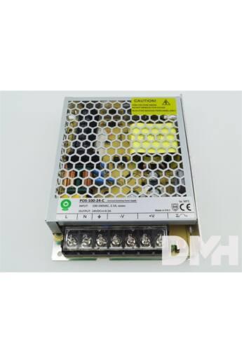 POS POWER POS-100-24-C 24V/4.5A 108W IP20 fém házas LED tápegység