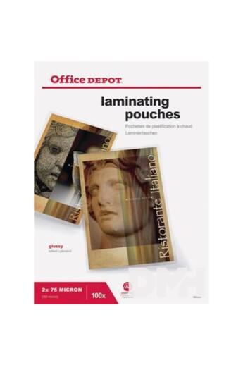 Office Depot A3 2x75mic 100db-os lamináló fólia