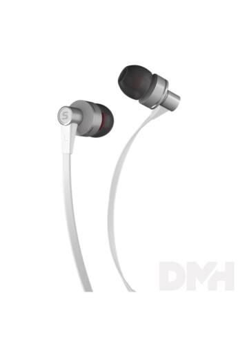 Sencor SEP 300 WHITE fehér mikrofonos fülhallgató