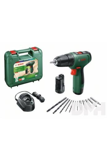 Bosch 06039D3007 EasyDrill 1200 2x1,5Ah akkus fúró-csavarozó készlet