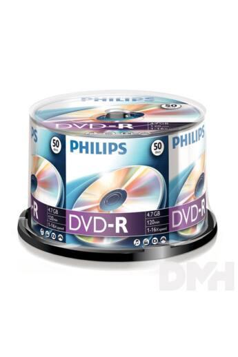 Philips DVD-R 4,7 Gb Írható DVD  50/henger