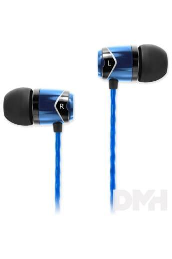 SoundMAGIC SM-E10-05 In-Ear kék-fekete fülhallgató