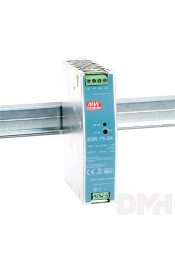 MEAN WELL EDR-75-24 27V 3,2A 77W DIN sínre szerelhető tápegység