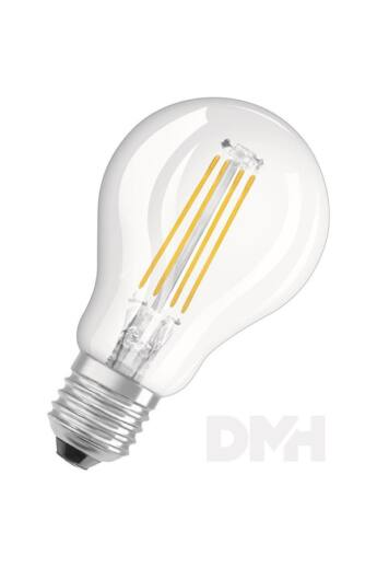 Osram Star átlátszó üveg búra/4W/470lm/2700K/E27 LED kisgömb izzó