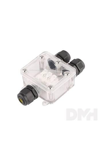 IP68 CONNECT BOX /5 BAR/vízálló kötődoboz