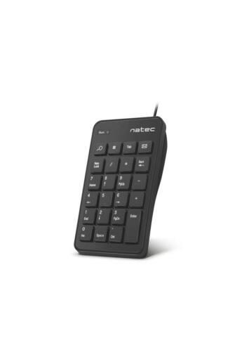 Keyboard Natec Goby USB Numeric, Black