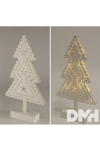 Home KAD 19 PINE fenyőfa 20LED/beltéri/meleg fehér karácsonyi dísz