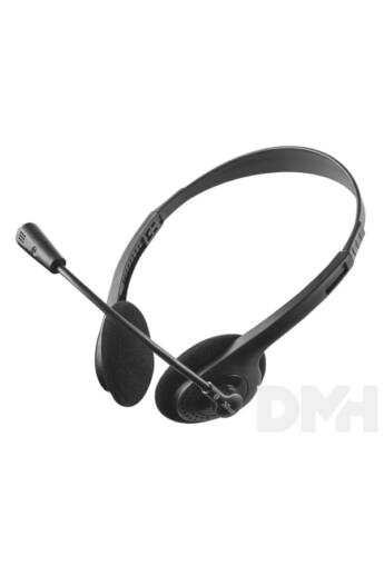 Trust Primo Chat mikrofonos fejhallgató headset