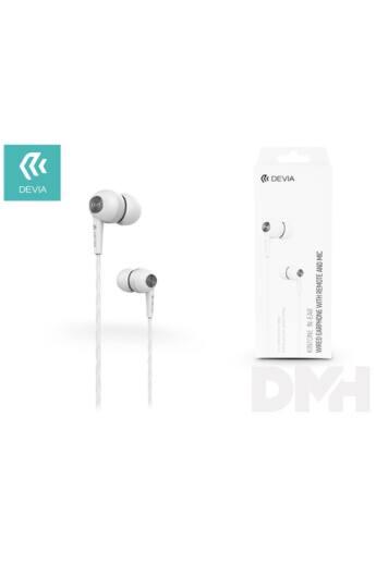 Devia ST310447 Kintone Eco fehér fülhallgató headset