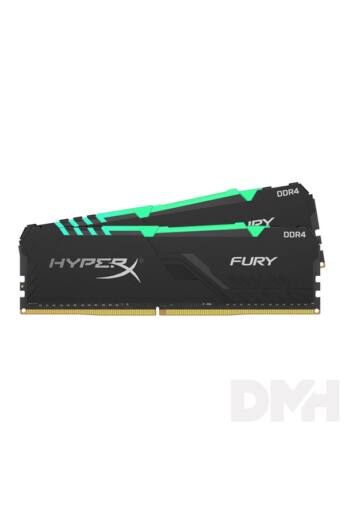 Kingston 32GB/3200MHz DDR-4 HyperX FURY RGB (Kit 2db 16GB) (HX432C16FB4AK2/32) memória