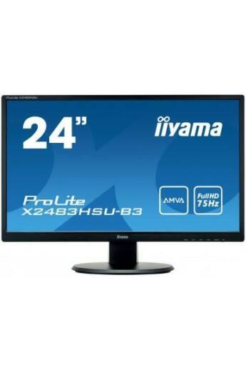 Monitor Iiyama X2483HSU-B3 24inch, Full HD, AMVA+, DVI, HDMI, USB, Speakers