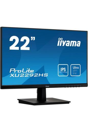 Monitor Iiyama XU2292HS-B1 21,5inch, IPS, Full HD, HDMI/DP, speakers