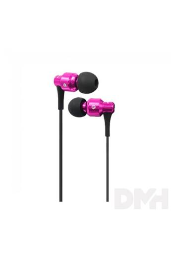 AWEI ES500i In-Ear rózsaszín fülhallgató headset