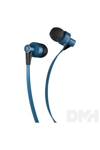 Sencor SEP 300 BLUE kék mikrofonos fülhallgató